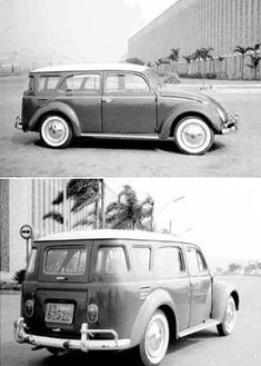 Beetle Station Wagon- Whoever built this did a phenominal job! Looks like it came from VW factory that way!