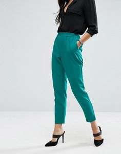 ASOS   ASOS Woven Peg Pull On Trousers