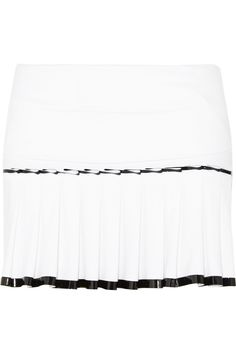 Monreal London | Pleated stretch-jersey skirt | NET-A-PORTER.COM