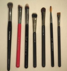 Concealer Brushes Makeup Sephora, Sigma, MAC