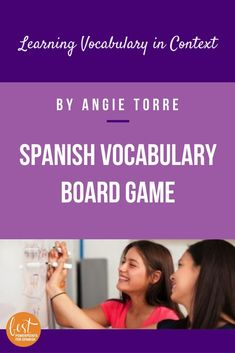 Students learn the vocabulary in context while playing a hilarious game. My students love this game. Good comprehensible input for Spanish, French or any world language. Spanish Games, Ap Spanish, Spanish Activities, Spanish Lessons, Vocabulary In Context, Spanish Vocabulary, Teaching Spanish, Comprehensible Input, Fun Board Games
