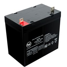 Electric Mobility Candy Apple Patriot 12V 55Ah Wheelchair Battery - This is an AJC Brand174; Replacement