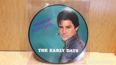 SHAKIN' STEVENS. THE EARLY DAYS. LP-PICTURE DISC / ASTAN MUSIC - 1982 / MBC. ***/***