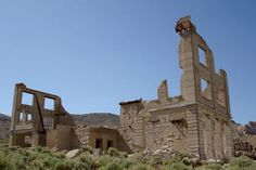 Railroad Ghost Towns of America | Abandoned Caboose Near Rhyolite Ghost Town, Death Valley |