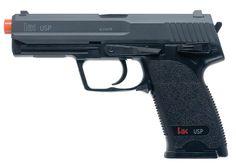 Airsoft Gun: Umarex H Licensed USP Spring Airsoft Pistol