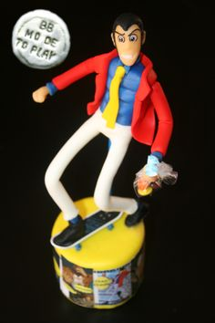 Lupin sculpture cake topper by Barbara Buceti BB Mode To Play
