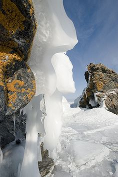 Ice with a Personality, Lake Baikal, Russia