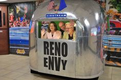 Airstream in the Airport - Reno Tahoe USA Events Information Center Unveiled at Reno Airport