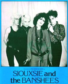 Siouxsie and the Banshees - Lollapalooza - Aug-25, 1991 Denver, Fiddlers Green