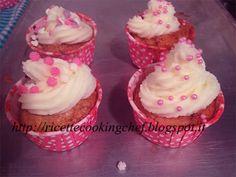 Cupcakes alla vaniglia con crema al burro (Ricetta Kenwood Cooking Chef) - Ricette Kenwood Cooking Chef