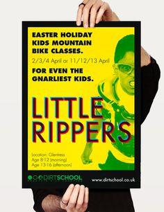 Poster design for Dirt School