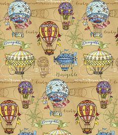 Balloon Rides, Hot Air Balloon, Air Ballon, Circus Decorations, Steampunk Crafts, Image Paper, Fairytale Art, Retro Futurism, Art Club
