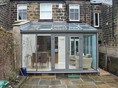 Image 80 - Victorian terrace with rear lean to conservatory Garden Room, Garden Room Extensions, Glass Extension, Curved Pergola, New Homes, Conservatory Extension, Conservatory Design, Sunroom Designs, Victorian Terrace