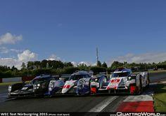 Porsche, Toyota, Audi R18 e-tron quattro