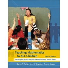 Teaching math for all children: ways to differientate math lessons - for Curriculum and Teaching