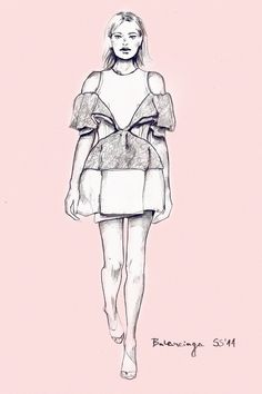 Balenciaga SS'14 by katiebloo.deviantart.com on @deviantART