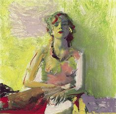 Saul Leiter - Young Singer