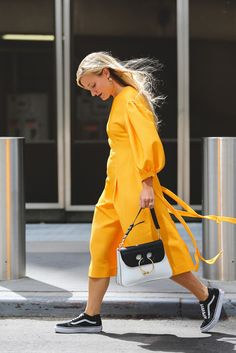"100+ Outfits We're Copying From The Streets Of New York City #refinery29  http://www.refinery29.com/2016/09/120553/nyfw-spring-2017-best-street-style-outfits#slide-66  The most ""Lemonade"" look we've seen yet...."