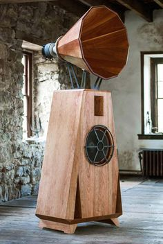 Gorgeous loudspeaker. AC1 in cherry with an oil and wax finish