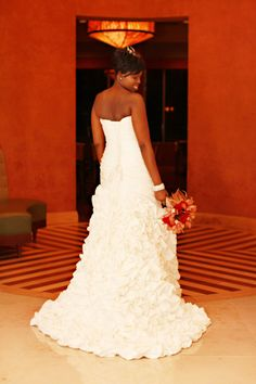 Kimberly Mathis - wedding gown