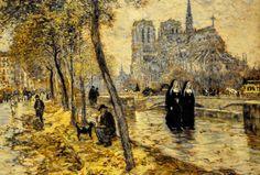 DE JEAN FRANÇOIS RAFFAELLI......1895.....NOTRE DAME DE PARIS......SOURCE TUMBLR.......