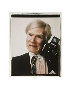 Self-Portrait with Polaroid Camera, c.1979 Kunstdruk
