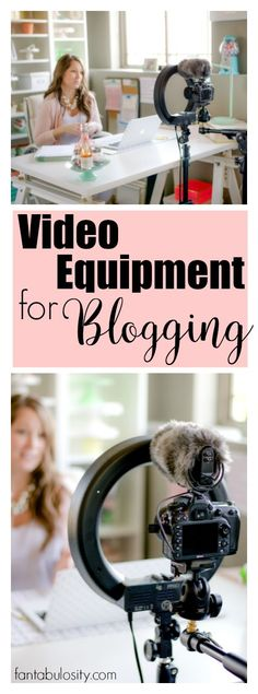 Video equipment for blogging and vlogging! Perfect for a beginner too. This is the exact list I've been looking for. You don't have to have it all, and you can get all of it pretty affordable!