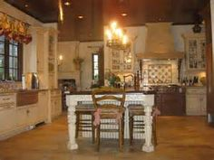 french country kitchen - Yahoo Image Search Results