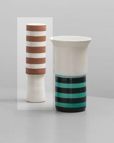PHILLIPS : UK050113, ETTORE SOTTSASS JR., Vase, model no. 176, from the 'Ceramiche' series