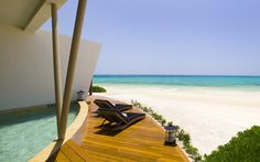 Presidential Oceanfront Suite Rosewood Riviera Maya Mexico