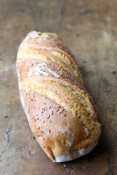 Eastern European Rye Bread from Karen's Kitchen Stories - Bread Recipes Rye Bread Recipes, Best Bread Recipe, Bread Machine Recipes, Homemade Rye Bread, Polish Rye Bread Recipe, Cornbread Recipes, Jiffy Cornbread, Polish Recipes, Baguette