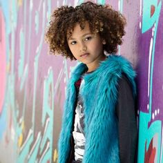 Bomba winter 2015/2016 | Kixx Online kinderkleding babykleding www.kixx-online.nl Fur Gilet, Fake Fur, Purple, Winter, Things To Sell, Pump, Blue, Winter Time, Viola