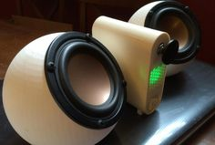 3D Printed Sound Sphere Speakers & Amp Created With UP! Mini 3D Printer