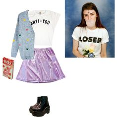 """""""Not today."""" by andreaanique on Polyvore"""