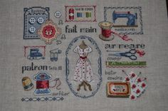 Alexandra's Cross Stitch blog: Another finished project !