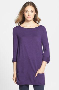 Caslon® Knit Tunic (Regular & Petite) | Nordstrom