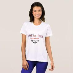Costa Rica 2018 t shirt  $27.80  by creartylic  - cyo diy customize personalize unique