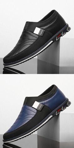 US 28.2 <Click to buy> Prelesty Italian Design Men's Formal Slip On Shoes Office Comfortable Handsome Breathable Leather Fashion, Leather Men, Men Fashion, Man Shoes, Business Shoes, Awesome Shoes, Men Formal, Sharp Dressed Man, Penny Loafers