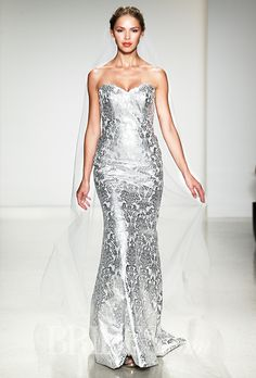 Shimmery Silver Gowns for the Second Time Around: Part 2 | I Do Take Two