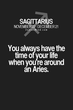 I am married to an aries