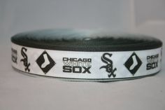 CHICAGO WHITE SOX Printed ribbon or bow by TheRibbonObsession