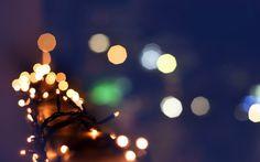 ... christmas lights, tree, bokeh lights, picture, winter, hd wallpaper