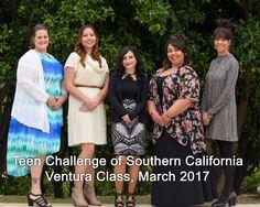 Teen Challenge of Southern California graduates, Ventura Class, March 2017.