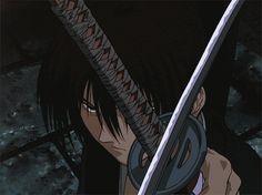 ] Rurouni Kenshin: Tsuioku-hen - A tragic tale of love and war Ronin Samurai, Samurai Anime, Samurai Art, Rurouni Kenshin, Kenshin Anime, Manga Art, Manga Anime, Anime Art, Tattoos Anime