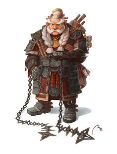 Anvil Hammerhand by Markus Erdt | Fantasy | 2D | CGSociety