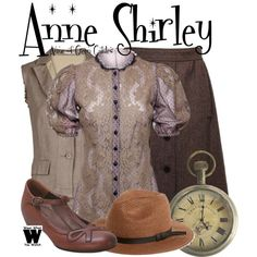 Inspired by Megan Follows as Anne Shirley in the 1985 made for TV movie Anne of Green Gables.