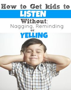 How to get kids to listen without YELLING! Learn a ton of tips you can start using the SAME day with Amy McCready of Positive Parenting Solutions. Positive Parenting Solutions, Parenting Advice, Gentle Parenting, Natural Parenting, Peaceful Parenting, Behavior Management, Classroom Management, Positive Discipline, Kids Discipline