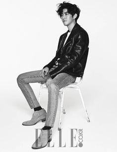 Kwang Hee - Elle Magazine January Issue '16