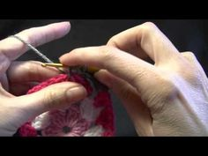 Not So Square Granny - Crochet Tutorial Video