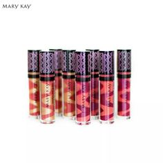 Check out the new Nourishine plus lips glosses...from Marykay